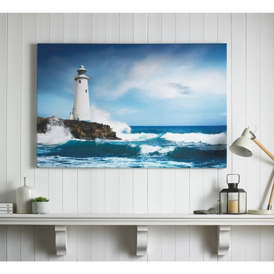 Drama Shore Printed Canvas, , large