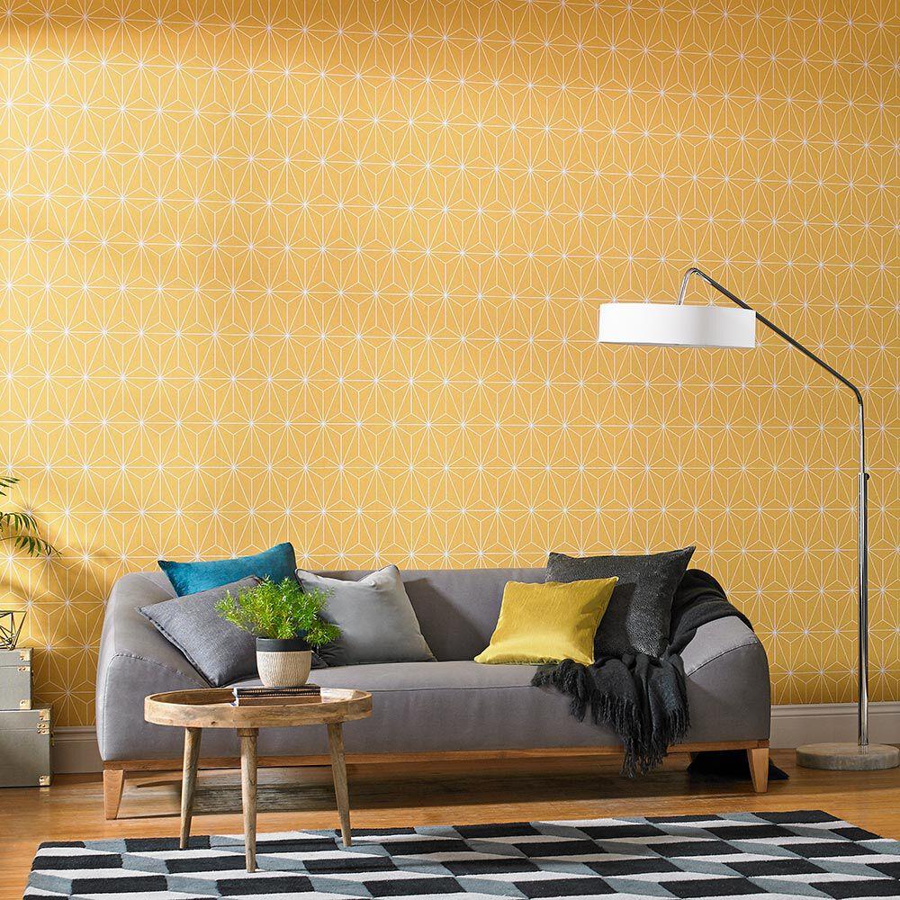 ... Large Prism Yellow Wallpaper, ...