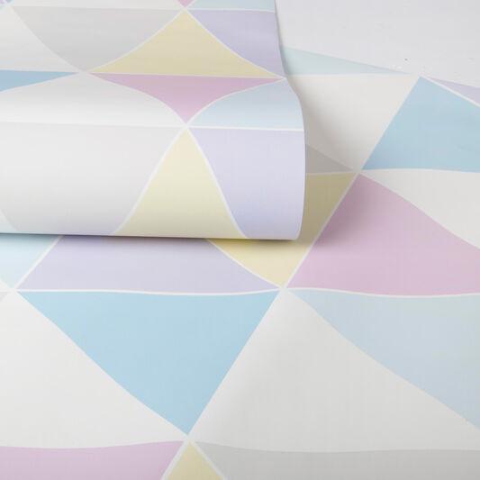 Harlequin Pastels Wallpaper, , large