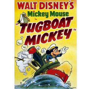 Tugboat Mickey Printed Canvas, , large