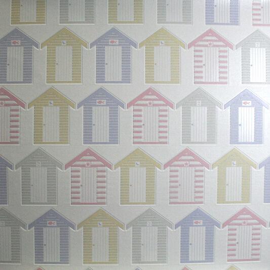 Beside The Seaside Pastels Wallpaper, , large