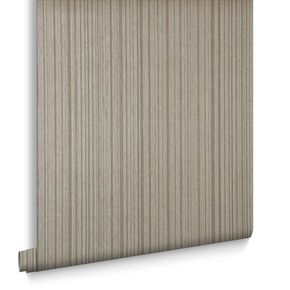 Linear Kelly's Taupe Wallpaper, , large