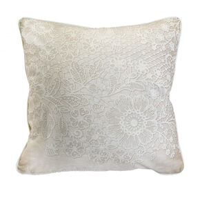 Elegant Lace Cushion, , large