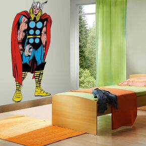 Marvel Comics Levensgrote Thor Muursticker, , large
