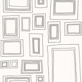 Frames Black and White Wallpaper, , large