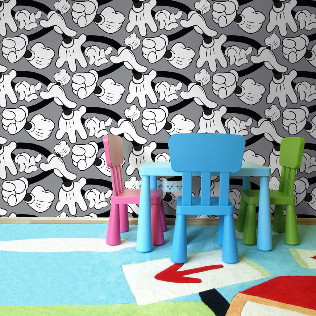 Mickey Mouse Bedroom Wallpaper Minnie Mickey Mouse Wall Decorations Graham Brown