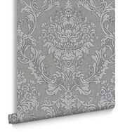 Province Grey Wallpaper, , large