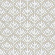 Bonnie Geo Pale Gold Wallpaper, , large