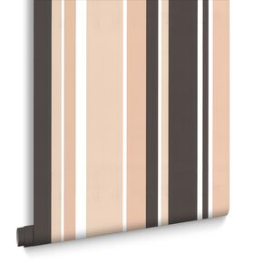 Rico Stripe Neutrals Wallpaper, , large