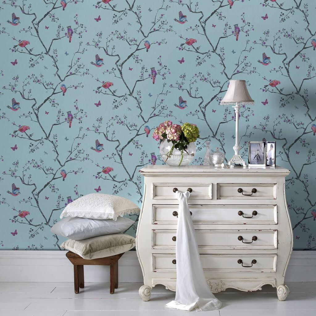 fresco mai wallpaper graham brown. Black Bedroom Furniture Sets. Home Design Ideas