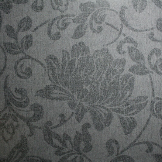 jacquard charcoal wallpaper grahambrownuk