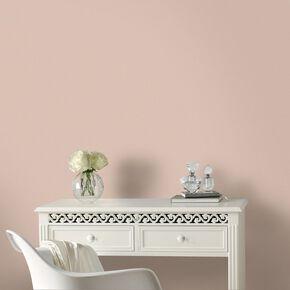 Sofia Plain Peach Wallpaper, , large