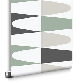 Carnival Green Wallpaper, , large
