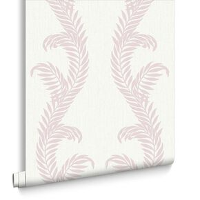 Venus Pink and White Wallpaper, , large