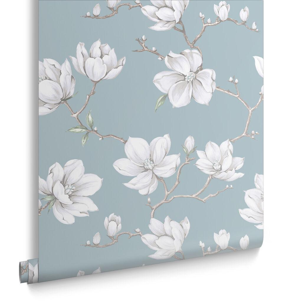Blue Wallpaper Duck Egg Blue Navy Teal Wallpaper - Duck egg blue bedroom wallpaper
