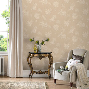 Boutique Beige Wallpaper, , large
