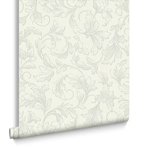 Charmed Cream and Beige Wallpaper, , large