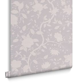 Botanic Soft Grey Wallpaper, , large