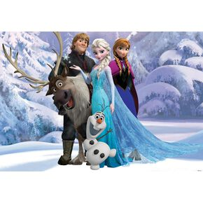 Frozen Mural, , large
