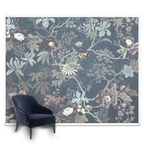 Couture Kimono Teal Mural, , large