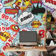 Comic Pop Wall Mural, , large