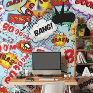 Fotobehang Comic Pop, , large