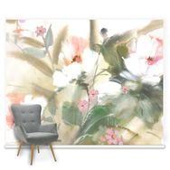 Couture Expressive Floral Mural, , large