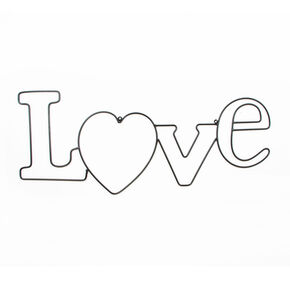 Love metalen Wall-art, , large