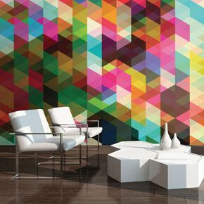 Geometrix Wall Mural, , large