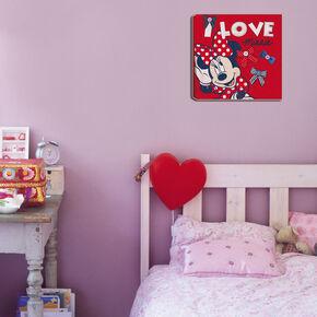 Minnie Mouse Bedrukt canvas, , large