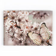 Butterfly Branch With Glitter Printed Canvas, , large