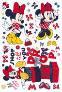 Sticker maxi Minnie Mouse, , large
