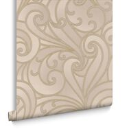 Saville Beige Wallpaper, , large