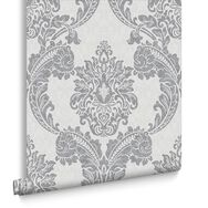 Regent Grey Wallpaper, , large