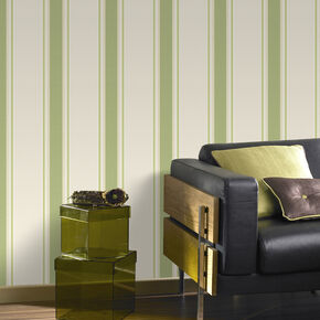 Orla Green and Gold Wallpaper, , large