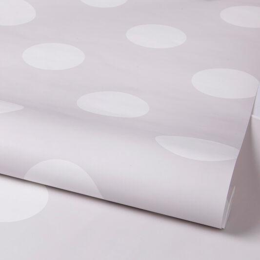 Dotty Grey Wallpaper, , large