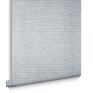 Weave Grey Wallpaper, , large