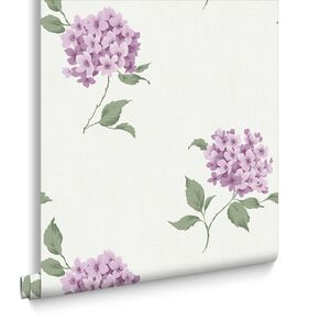 Mia Plum Wallpaper, , large