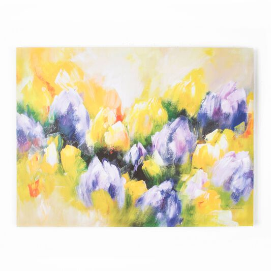Tulips Printed Canvas, , large