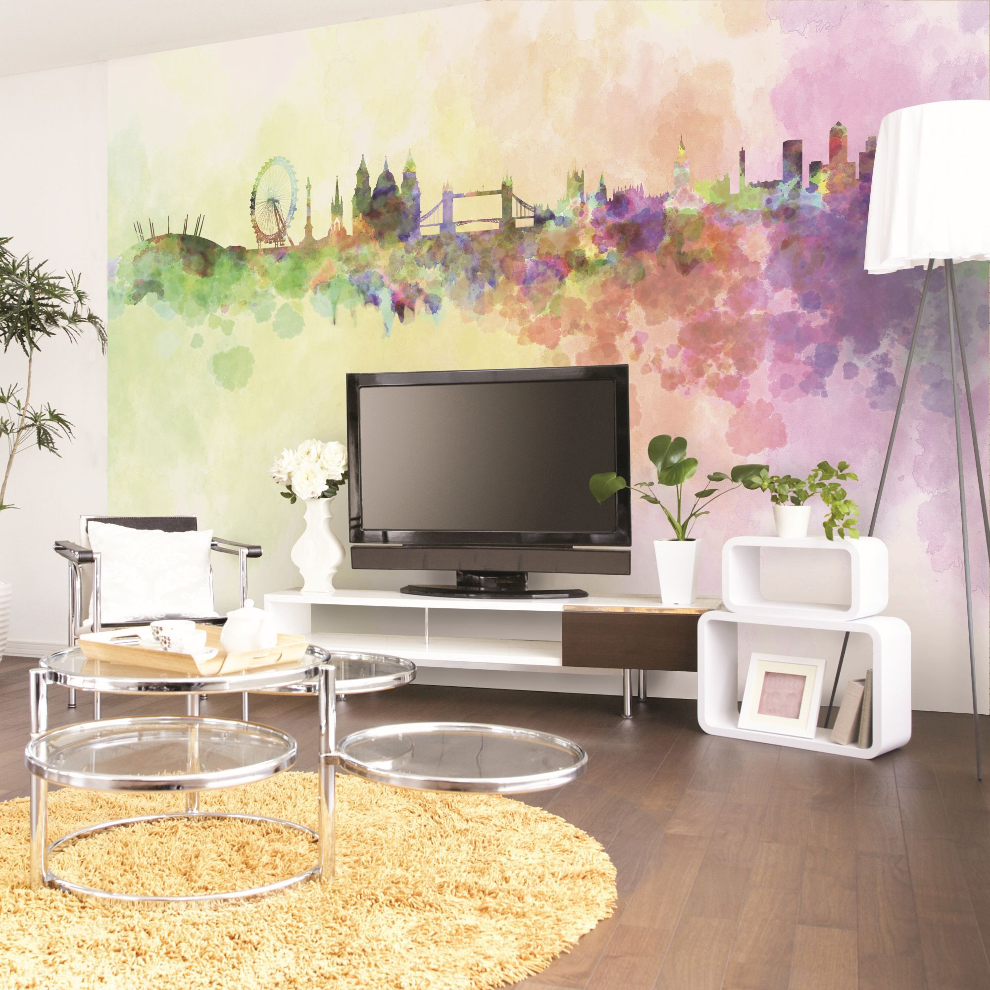 london wall mural large
