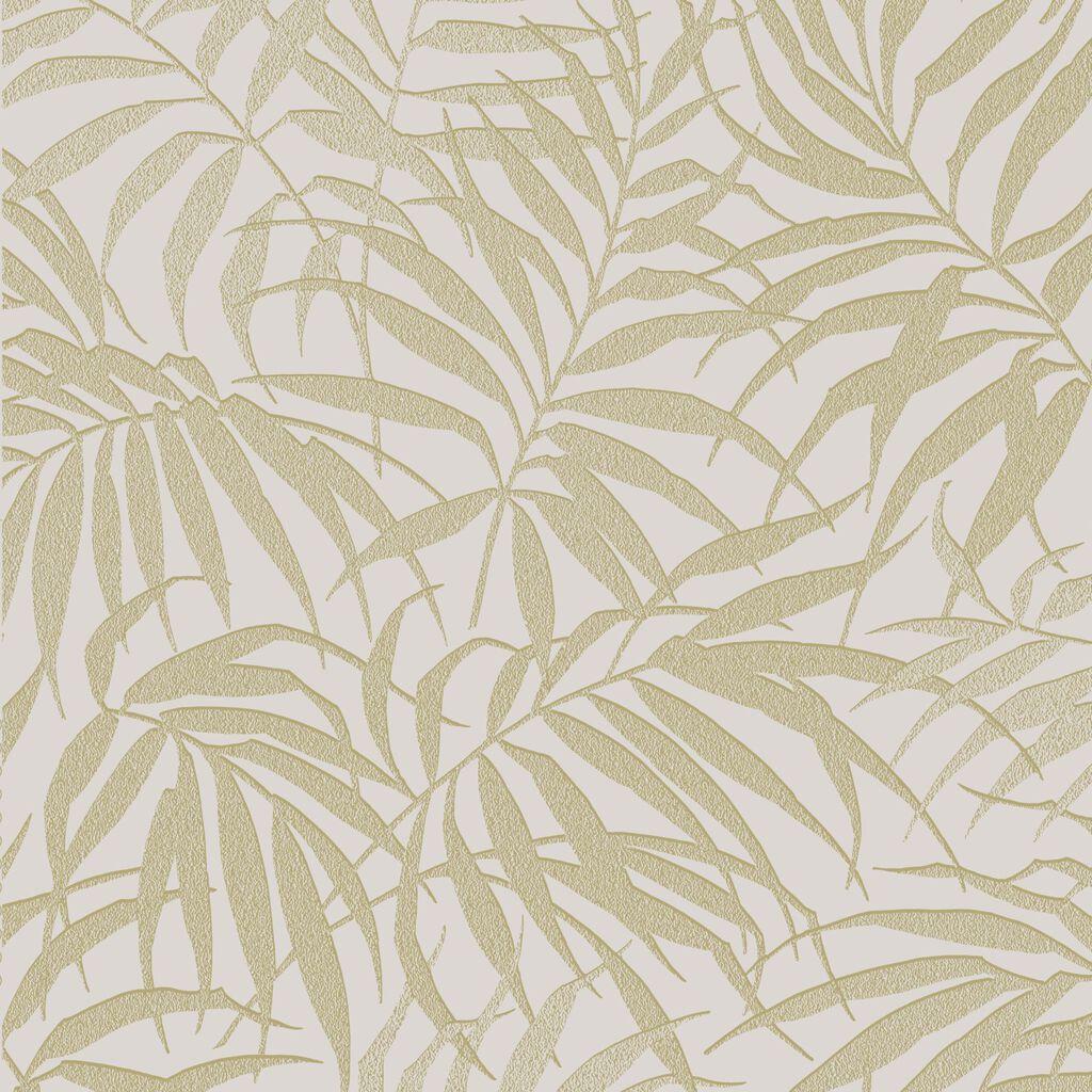 tropic beige and gold wallpaper graham brown. Black Bedroom Furniture Sets. Home Design Ideas