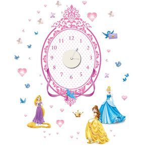 Prinzessin Sticker-Uhr, , large