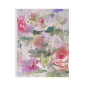 Abstract Blossoms Printed Canvas, , large