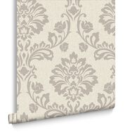 Aurora Beige and Champagne Wallpaper, , large