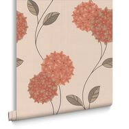 Pippa Orange Wallpaper, , large