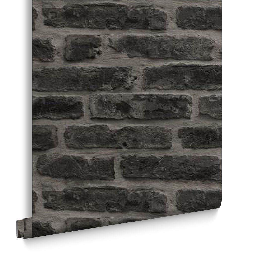 Industry Noir Wallpaper    large. Black Wallpaper Designs   Striped   Patterned Black Wallpaper