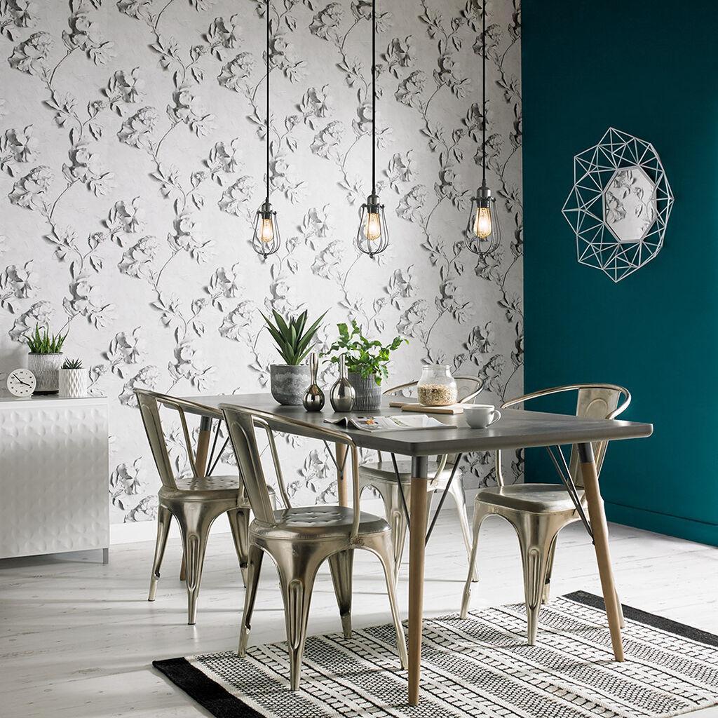 Stone rose wallpaper 3d stone effect wallpaper graham for Best home decor australia