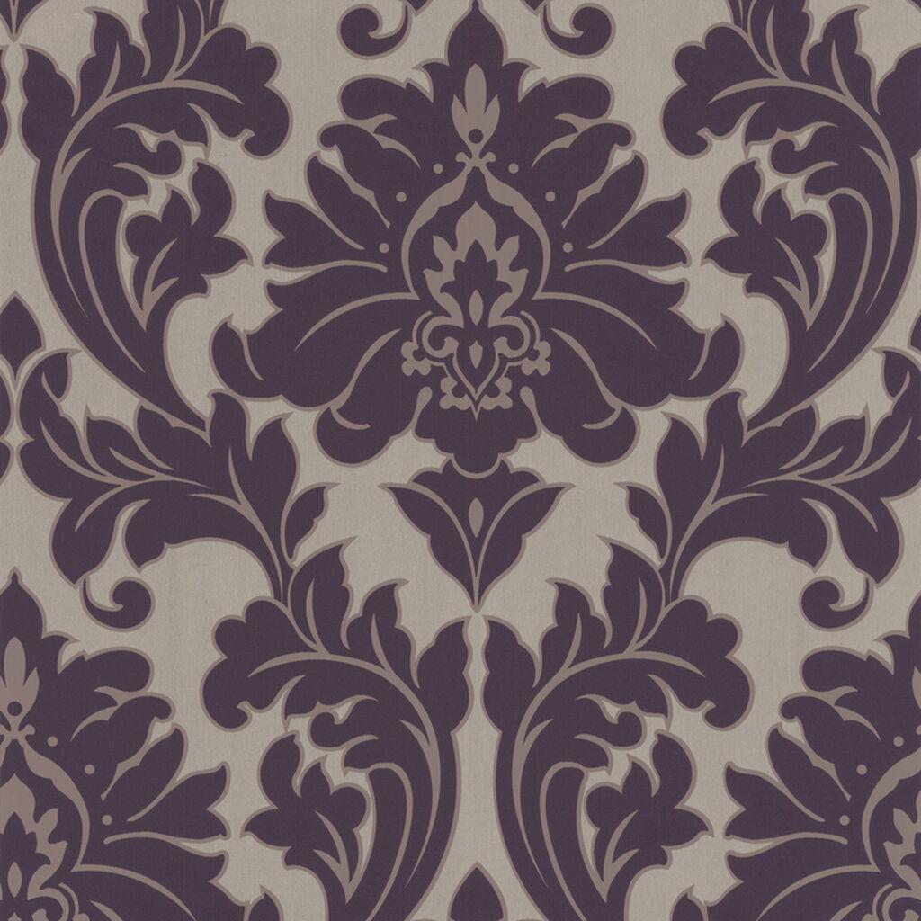 majestic purple wallpaper graham brown. Black Bedroom Furniture Sets. Home Design Ideas