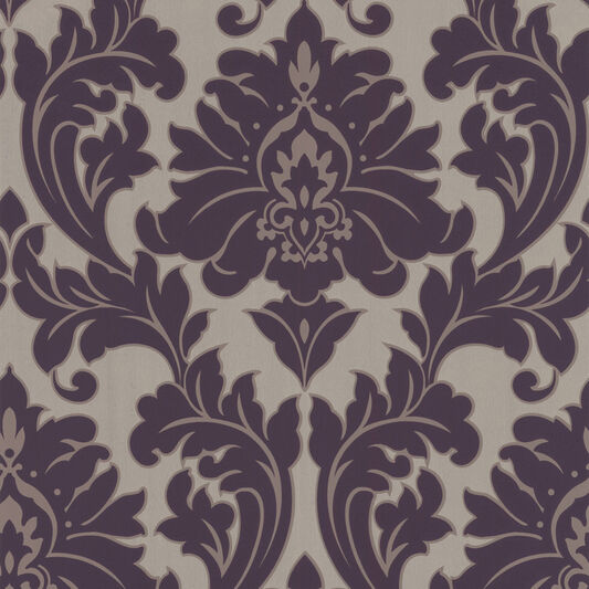 majestic purple wallpaper graham brown. Black Bedroom Furniture Sets. Home Design Ideas