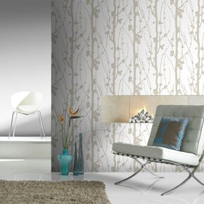 Solitude Glitter Gold Wallpaper, , large